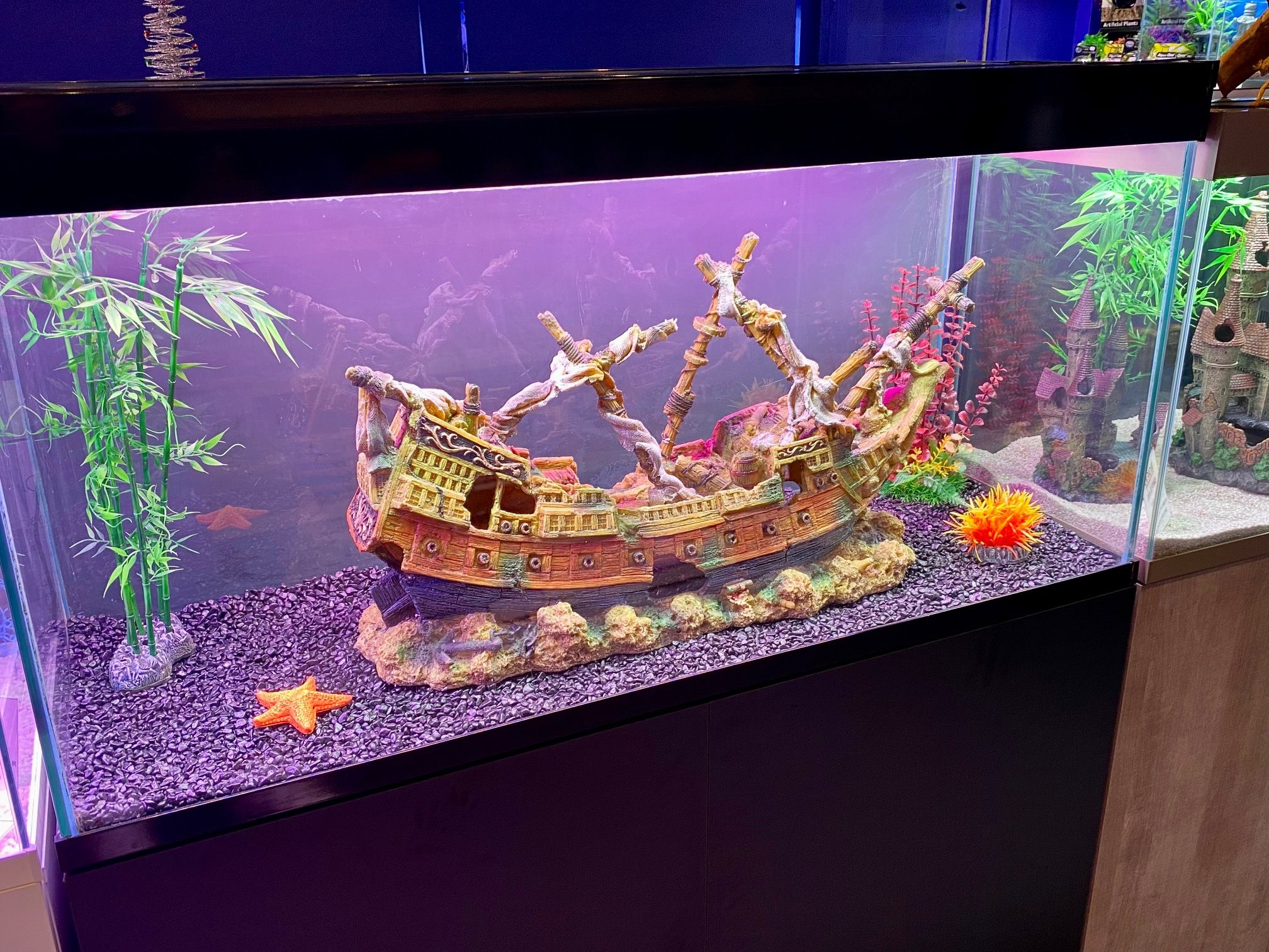 Xxl Eagle Pirate Ship Shipwreck Ruin Very Large Aquarium